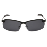 Spesifikasi Personal Terpolarisasi Uv400 Matahari Kacamata Hitam Untuk Penerbang Pria Abu Abu Paling Bagus