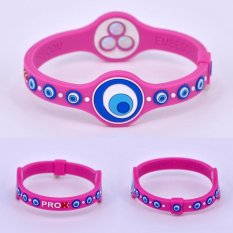 Dipersonalisasi Power Energy Hologram Gelang Gelang Menahan Keseimbangan Ion Magnetic Terapi Fashion Silicone Band PROX 2