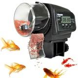 Pet Otomatis Aquarium Tank Flake Fish Food Feeder Feeding Timer Lcd Layar Hitam Intl Diskon Akhir Tahun
