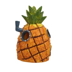 Beli Pet Cartoon Figure Sponge Pineapple Aquarium Fishbowl Ornament Tank Decorations Intl