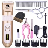 Jual Pet Clippers Dog Geser Alat Cukur Profesional Rechargeable Electric Hair Clippers Intl Murah