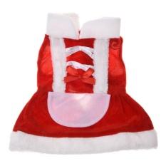 Peliharaan Pakaian Gaun Peliharaan dari Hewan untuk Pesta Natal-Ukuran S-Internasional