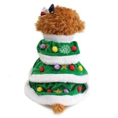 Pet Dog Gaun Pohon Natal Pakaian-Intl