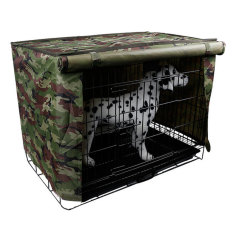 Spesifikasi Anjing Peliharaan Kandang Penutup Peti Sejuk Kolam Waterproof Ukuran 48 26 Cm 91 44 Cm L Kamuflase Hijau Merk Oem