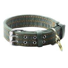 Tips Beli Pet Dog Double Breasted Kalung Untuk Big Dog Collar Leads Hijau Tentara Intl