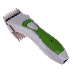 Pet Dog Rambut Electric Shaver Clipper (hijau)-Intl By Crystalawaking.