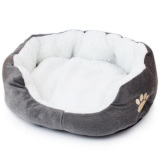 Ulasan Mengenai Kandang Hewan Peliharaan Anjing Tempat Tidur Hangat Nyaman Fleece Bed Grey