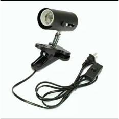 Pet Inkubasi Panas UV UVB Lampu Holder untuk Ayam Reptil Brooder Basking Light-Intl