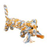 Jual Pet Pet Anjing Tali Kapas Gigi Sehat Chew Cat Bite Training Tiger Bentuk Mainan Internasional Branded