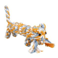 Diskon Pet Pet Anjing Tali Kapas Gigi Sehat Chew Cat Bite Training Tiger Bentuk Mainan Internasional