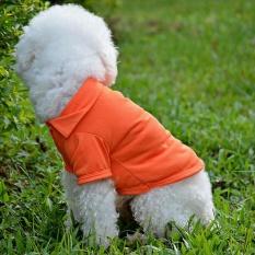 Pet Puppy Kemeja Musim Panas Kecil Anjing Kucing Pakaian Kostum Pakaian Kaos -International
