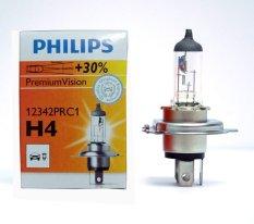 Jual Philips Bohlam Halogen H4 12V 60 55W P43T 38 Premiumvision Headlights Lampu Depan Mobil Termurah