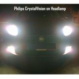 Philips Crystal Vision H4 60/55 Watt - Lampu Halogen Mobil Putih 4300K   Lazada Indonesia