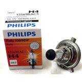 Spesifikasi Philips Lampu Depan Halogen H4 12V 100 90W P43 Isi 10 Philips