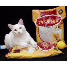 Spesifikasi Phoenix Pasir Kucing Cat Litter Gumpal Aroma 5 5 Liter
