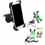 Jual Phone Holder Motor Dengan Charger 2A Satu Set