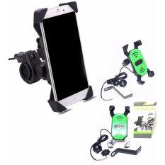 Beli Phone Holder Motor Dengan Charger 2A Mahavariasi Murah