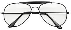 Photochromic Adaptif Bening Lensa Kacamata Penerbang W/Matahari Senor Transisi Ringan Tinted Sunglasses (Hitam, 60) -Internasional