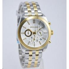 Pierre Cardin Jam Tangan Pria Pierre Cardin PC107231F06 Verdurnemines Homme Gold Stainless Steel Chronograph