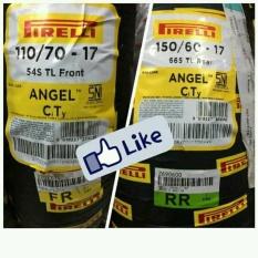 Pirelli Angle City Paket 110-70-17 & 150-60-17 By Kiky Motor.