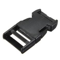 Plastik Delrin Samping Gesper Kontur Melengkung untuk Paracord Gelang Anyaman 20mm-Intl