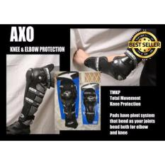 Spesifikasi Platinum Axo Decker Pelindung Siku Dan Lutut Hitam Toko Berkah Online Dan Harganya