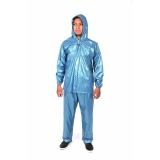 Beli Plevia Jas Hujan Jaket Celana Pop Tipe 810 Motif Polkadot Biru Seken