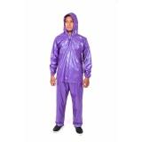 Review Pada Plevia Jas Hujan Jaket Celana Pop Tipe 810 Motif Polkadot Biru Tua