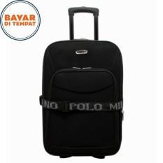 Koper Polo Milano Koper Baju Ukuran 20 Inchi 209-20 Expandable Import Original - Black