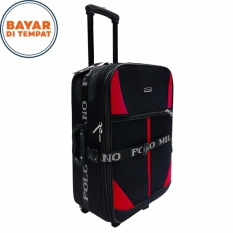 PoIo Milano Koper Bahan Ukuran 24 Inchi 738-24 Expandable Original - Black Red