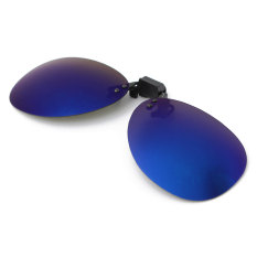 Ulasan Polarized Clip On Sunglasses Lens Fishing Malam Mengemudi Uv400 Biru