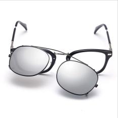 Polarized Clip On Sunglasses Reflektif Cermin Outdoor Olahraga Berkendara Memancing Bersepeda Peralatan Goggles Kacamata-Intl