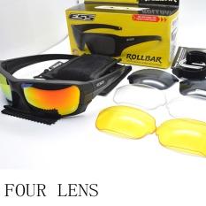 Model Polarized Taktis Sunglasses Kacamata Militer Crossbow Army Goggles Uji Balistik Anti Peluru Eyewear Intl Terbaru