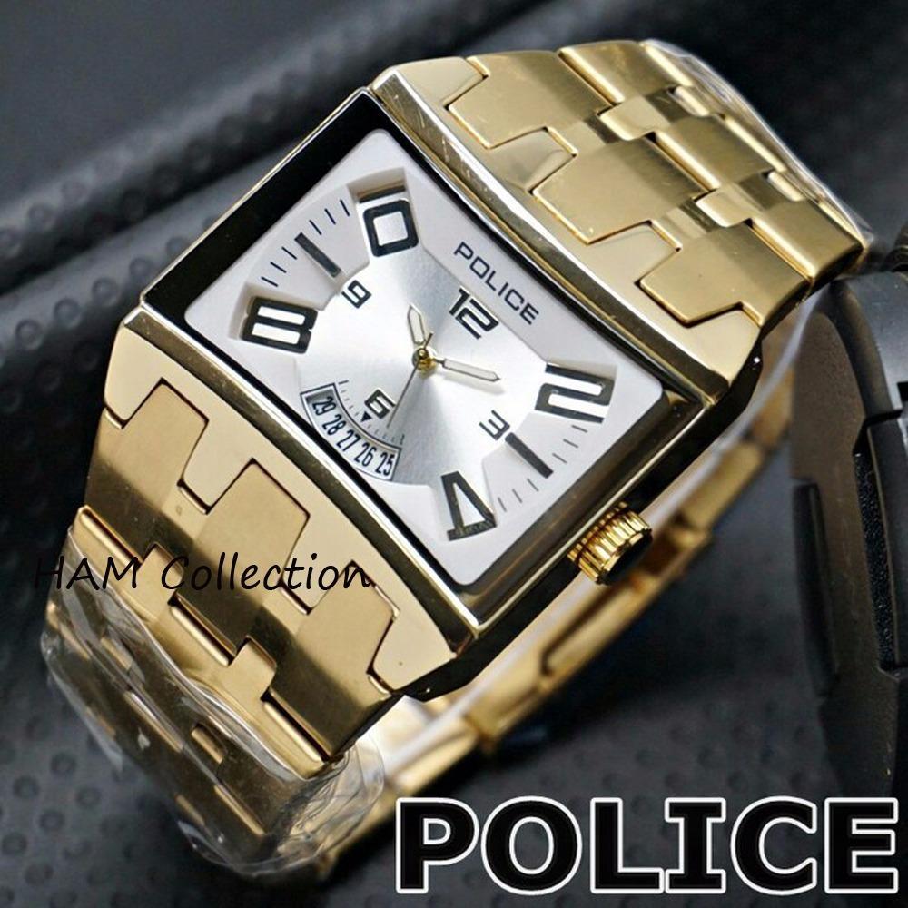 POLICE 2210G Jam tangan fashion pria tanggal