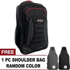 PoloClub Civic Meteorite Backpack + FREE OREGANO Random Color Shoulder Bag