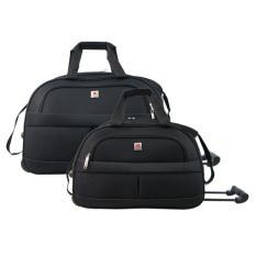Polo Classic JS1002-35 Travel Bag Trolley 18 & 21 inch - Black - Tas trolley - Tas travel - Tas pria Tas wanita