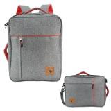 Polo Classic Tas Ransel 3 In 1 6198 Grey Abu Abu Backpack Tas Pria Tas Wanita Original