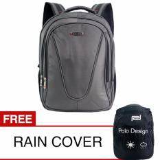 Jual Cepat Polo Design Jc 205 09 Backpack Rain Cover Grey