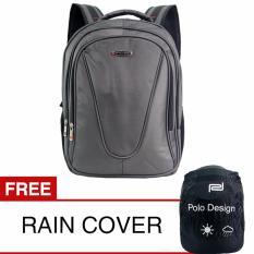 Beli Polo Design Jc 205 09 Backpack Rain Cover Grey Kredit