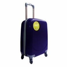 Polo Hoby Koper Hardcase Luggage 18 Inchi 705 Blue Waterproof Diskon Akhir Tahun