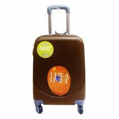 Beli Polo Hoby Koper Hardcase Luggage 18 Inchi 705 Coffee Waterproof Polo Hoby Asli