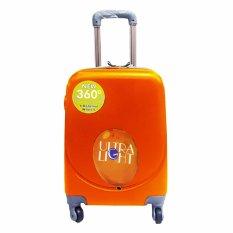 Polo Hoby Koper Hardcase Luggage 18 Inchi 705 Orange Waterproof