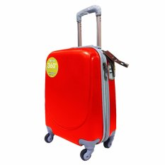 Review Terbaik Polo Hoby Koper Hardcase Luggage 18 Inchi 705 Red Waterproof