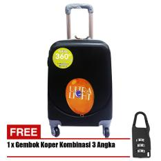 Harga Polo Hoby Koper Hardcase Luggage 20 Inchi 705 20 Anti Theft Black Free Padlock Suitcase Baru