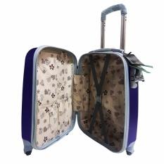 Harga Polo Hoby Koper Hardcase Luggage 20 Inchi 705 Blue Waterproof Termahal