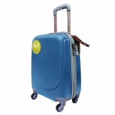 Polo Hoby Koper Hardcase Luggage 20 Inchi 705 Lake Blue Waterproof Original