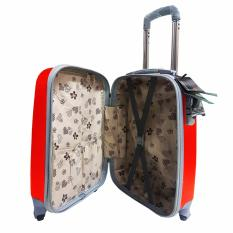 Diskon Polo Hoby Koper Hardcase Luggage 20 Inchi 705 Red Waterproof