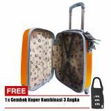 Jual Beli Online Polo Hoby Koper Hardcase Luggage 24 Inchi 705 24 Anti Theft Orange Free Padlock Suitcase