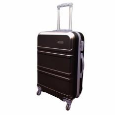 Polo Hoby Koper Hardcase Luggage 24 Inchi 710-24 Anti Theft Original - Black