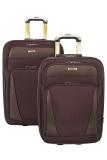 Harga Polo Hunter Koper 587 20 24 Set 2 Pcs Coffee Termahal